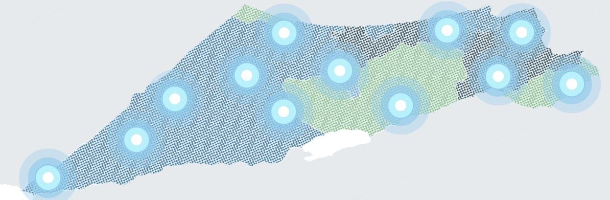 מפת ארץ ישראל - פרוייקטים של חברת גדרות טל