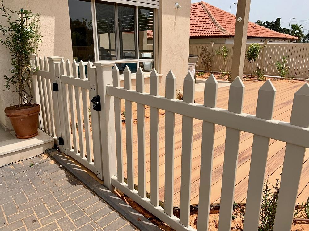 גדרות ושערים לגינה