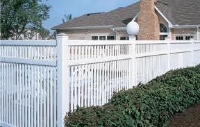 גדר נוף לבנה לגינה