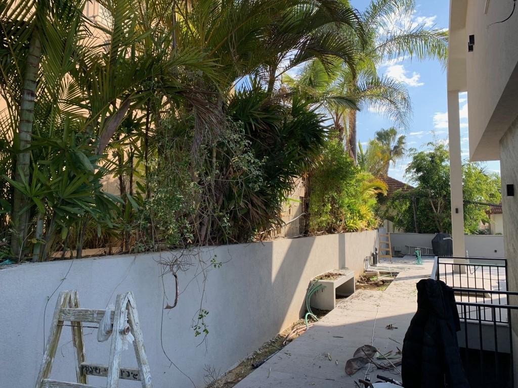 התקנה גדרות לגינה ברעננה גדר אמריקאית גדר בין שכנים גדר ללא תחזוקה (2)