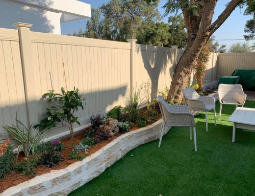 התקנת גדרות לגינה בקרית גת