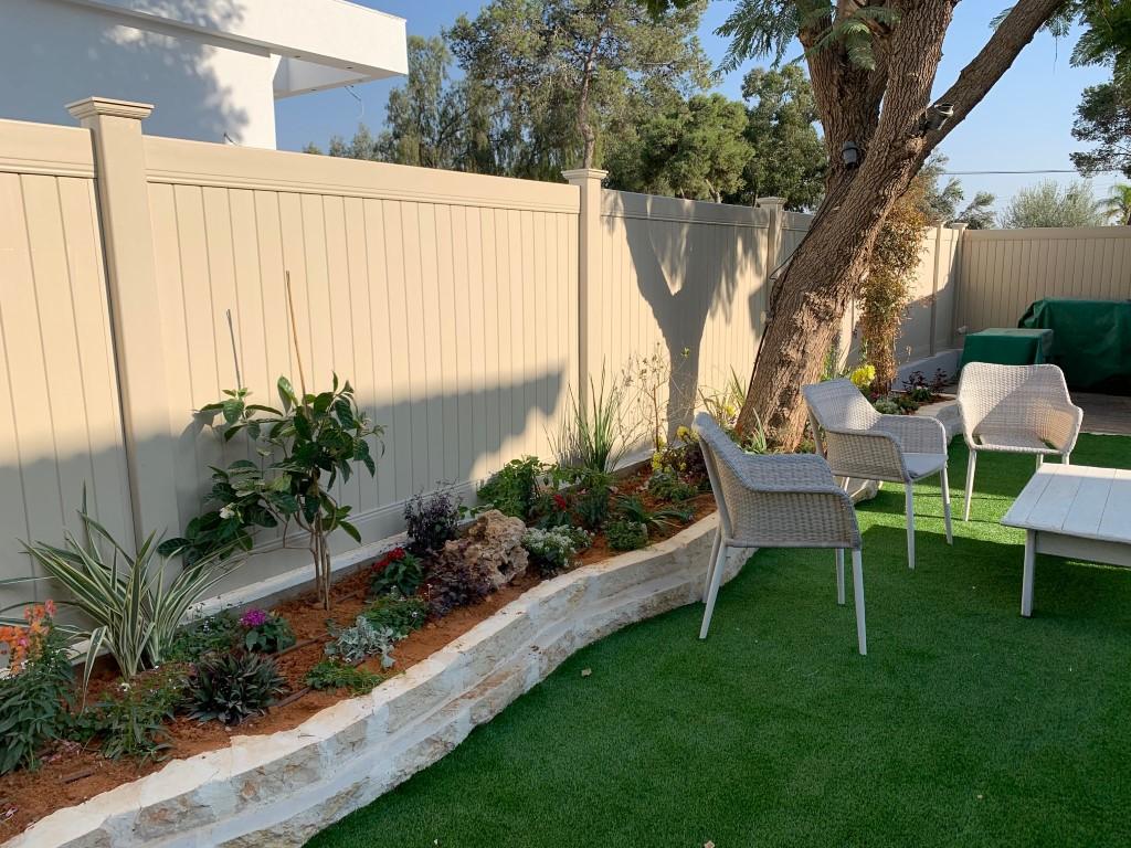 התקנת גדרות לגינה בקרית גת (5)