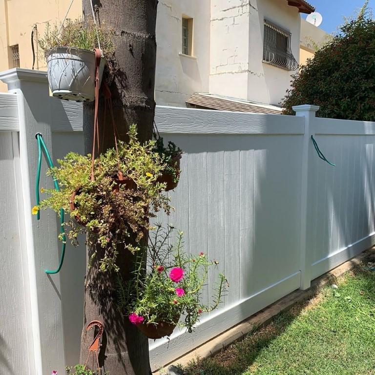 גדרות לגינה בגדרה מסוג ויניל פרימיום (5)