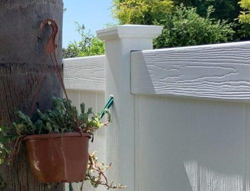 גדרות לגינה בגדרה ויניל פרימיום