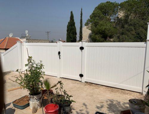 גדרות לגינה בירושלים מבשרת ציון